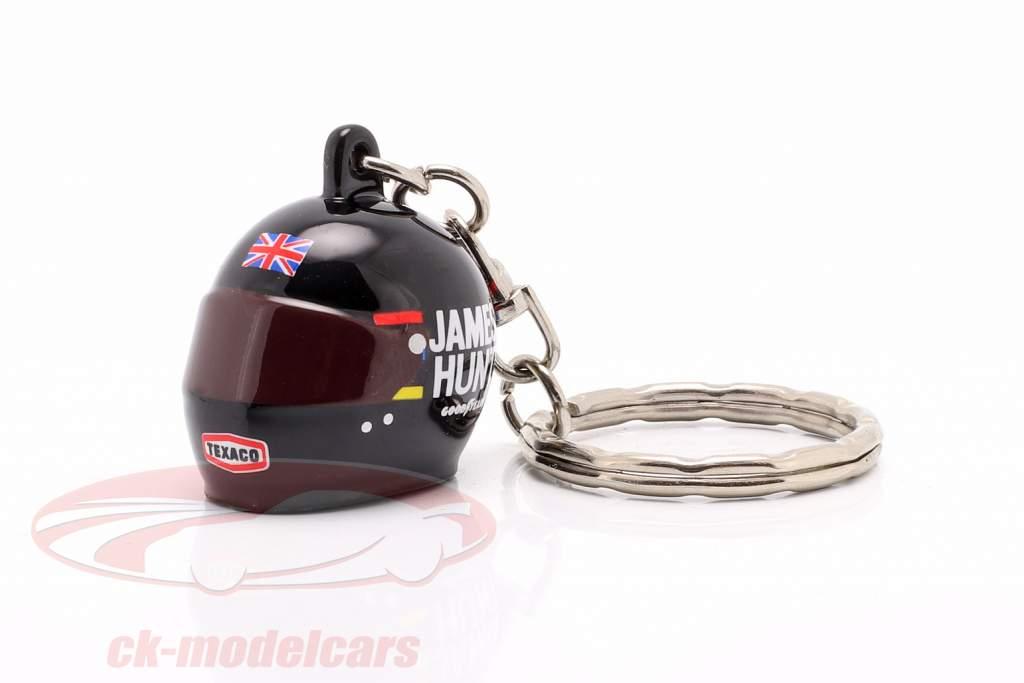 James Hunt McLaren M23 formula 1 World Champion 1976 Keyring helmet 1:12 MBA