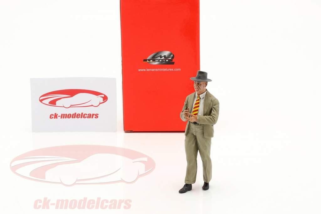Enzo Ferrari 50s Years figure 1:18 LeMansMiniatures