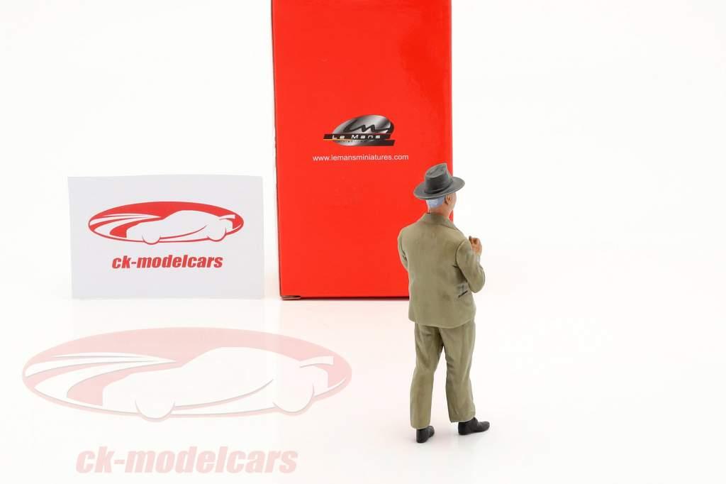 Enzo Ferrari Anni 50 Anni figura 1:18 LeMansMiniatures