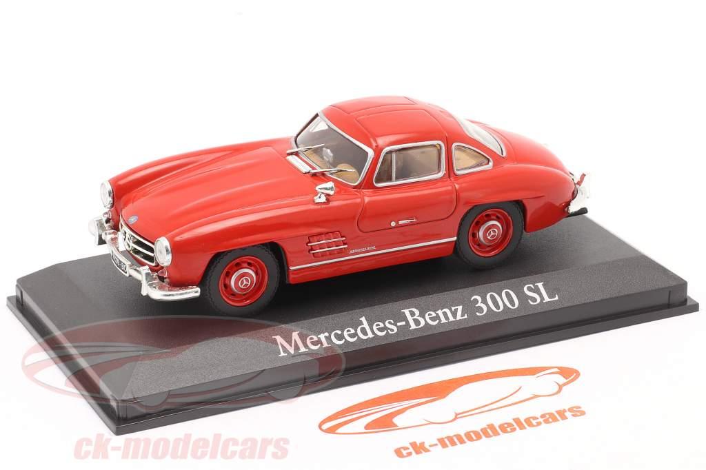 Mercedes-Benz 300 SL Año de construcción 1954 rojo 1:43 Altaya