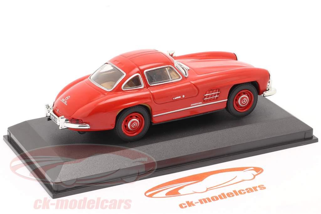 Mercedes-Benz 300 SL Ano de construção 1954 vermelho 1:43 Altaya