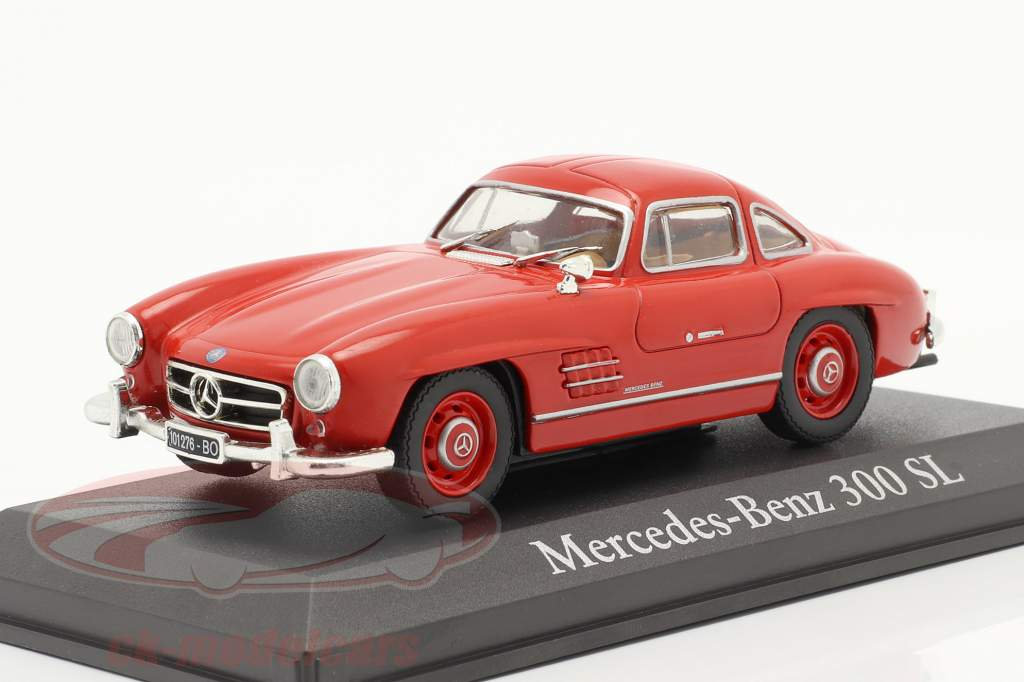 Mercedes-Benz 300 SL Anno di costruzione 1954 rosso 1:43 Altaya