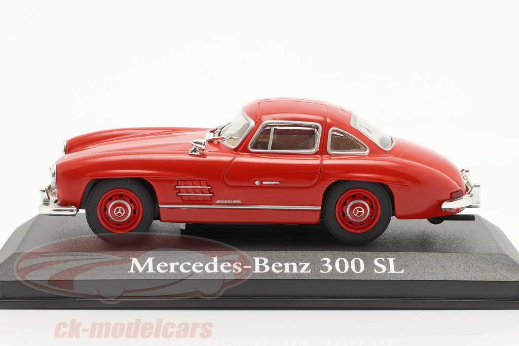 Mercedes-Benz 300 SL Byggeår 1954 rød 1:43 Altaya