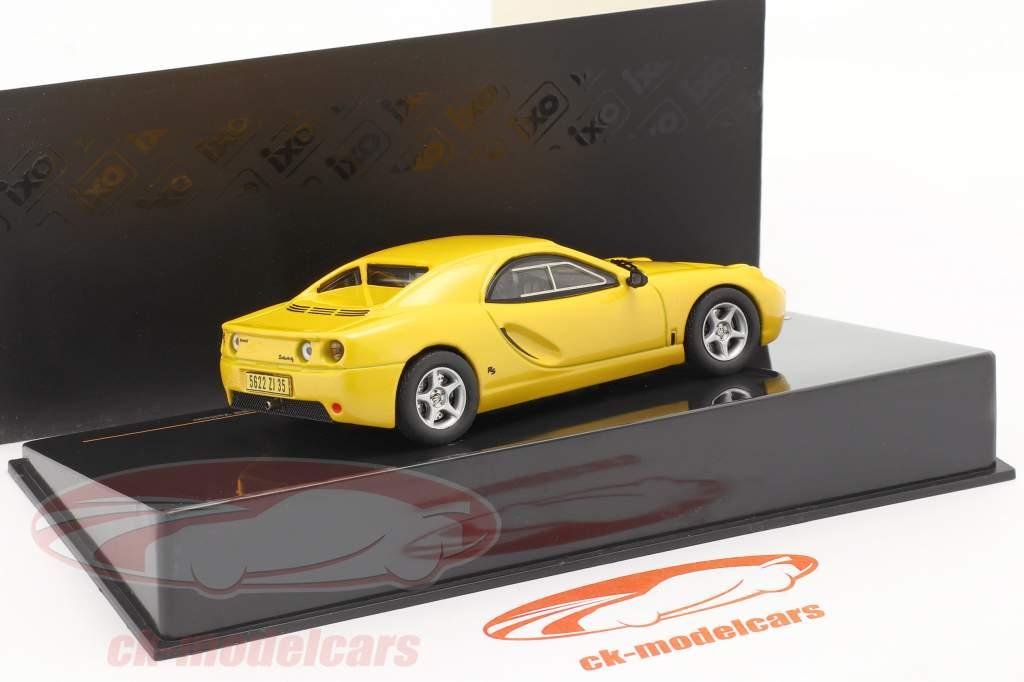 Hommell RS Berlinette Año 1999 amarillo 1:43 Ixo