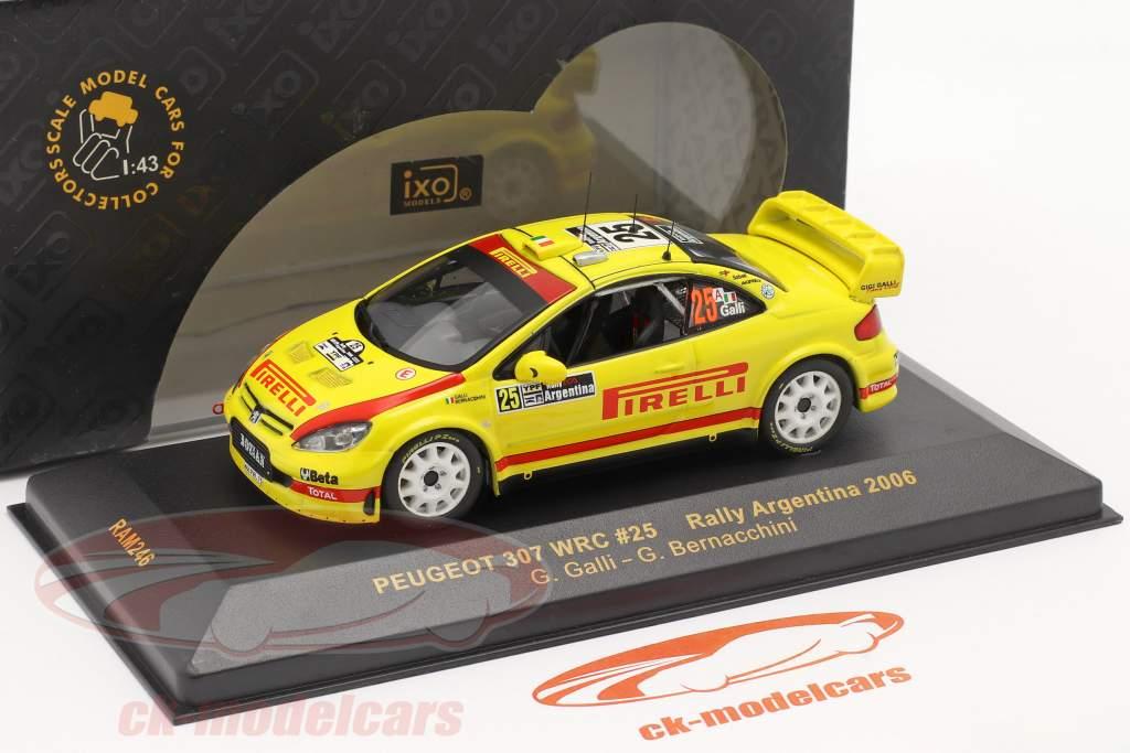 Peugeot 307 WRC #25 Rally Argentina 2006 1:43 Ixo