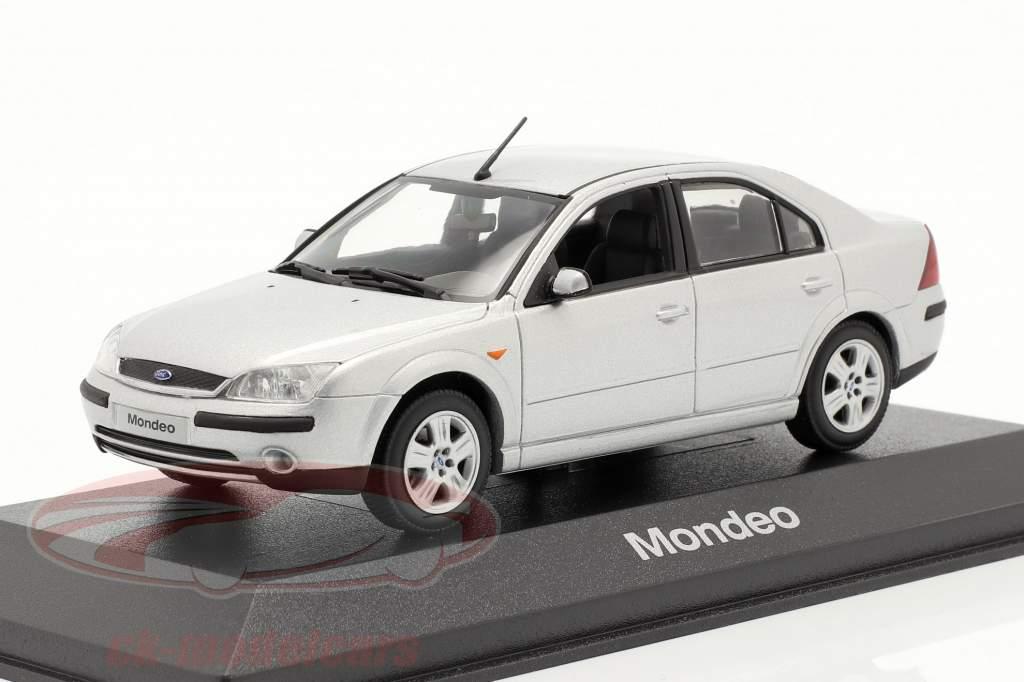 Ford Mondeo sedan model 2001 silver 1:43 Minichamps