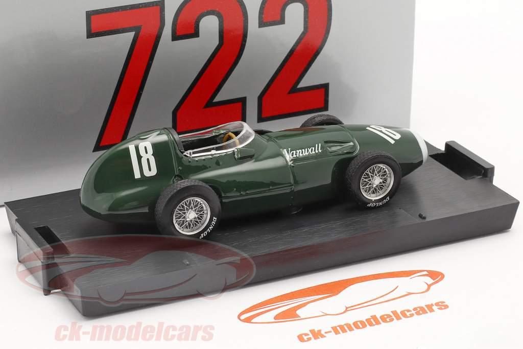 S. Moss / T. Brooks  Vanwall VW57 #18 Winner British GP formula 1 1957 1:43 Brumm