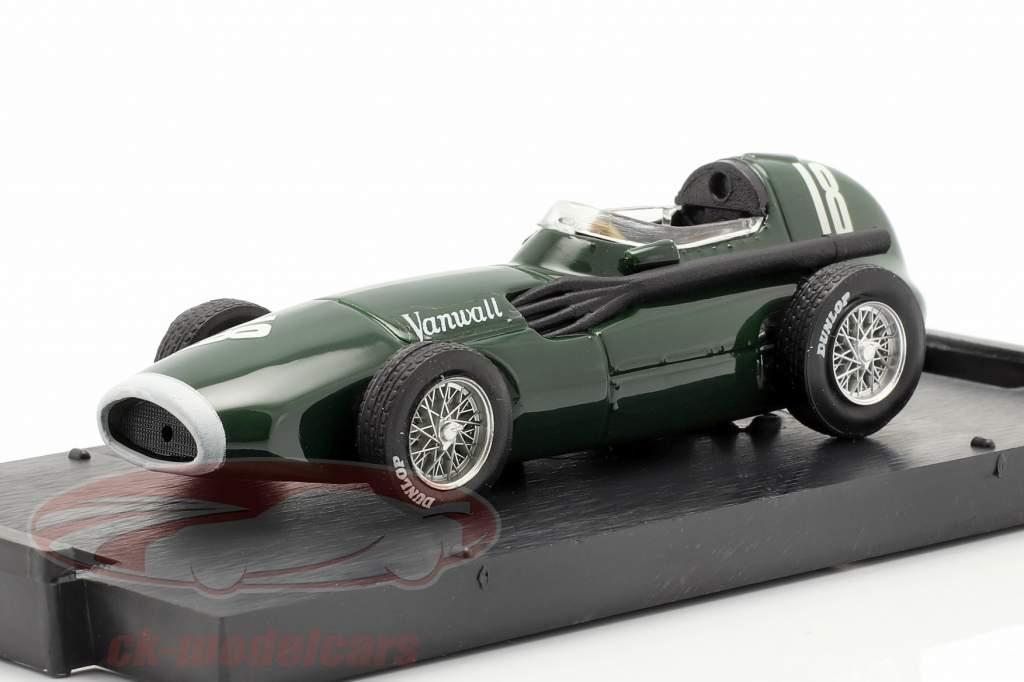 S. Moss / T. Brooks  Vanwall VW57 #18 Winnaar Brits GP formule 1 1957 1:43 Brumm