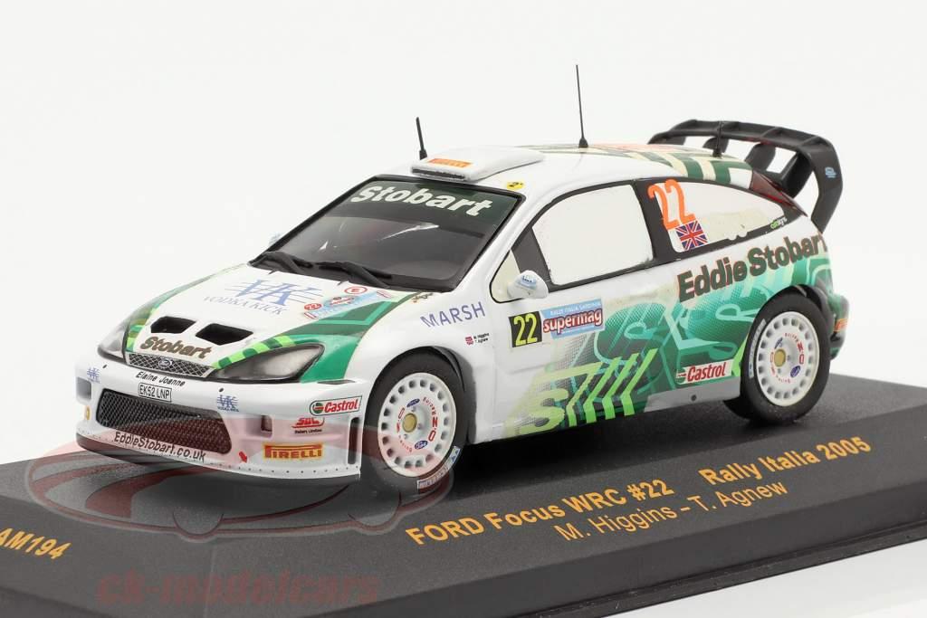 Ford Focus WRC n º 22 Rally Italia 2005 1:43 Ixo