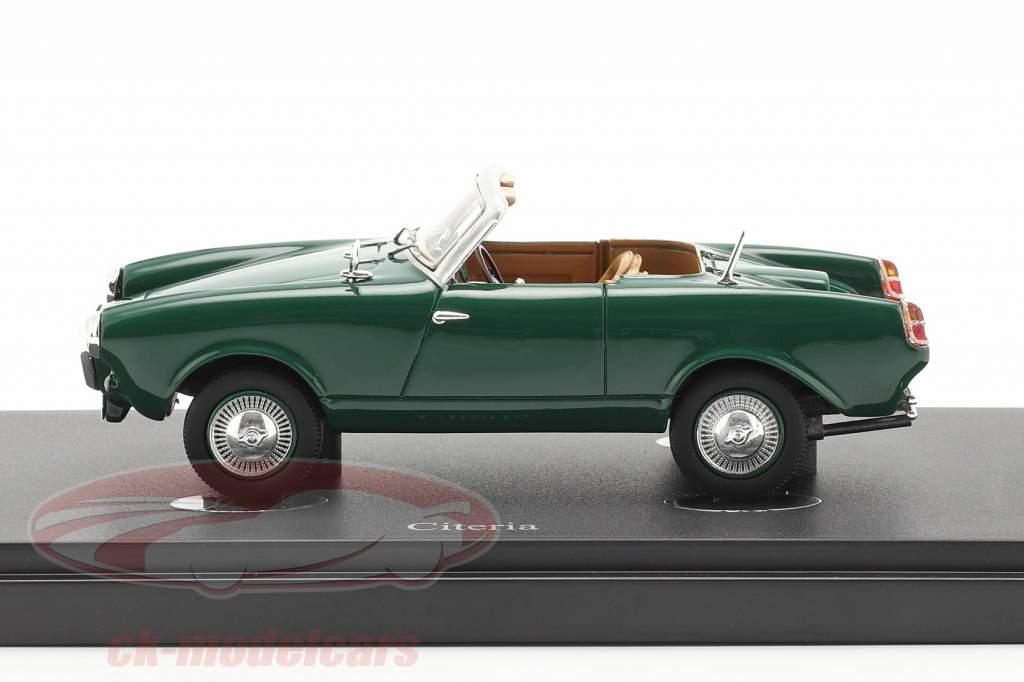 Citeria Ano de construção 1958 verde escuro 1:43 AutoCult
