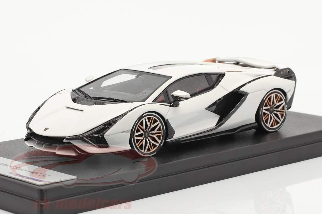Lamborghini Sian FKP 37 Baujahr 2019 monocerus weiß 1:43 LookSmart