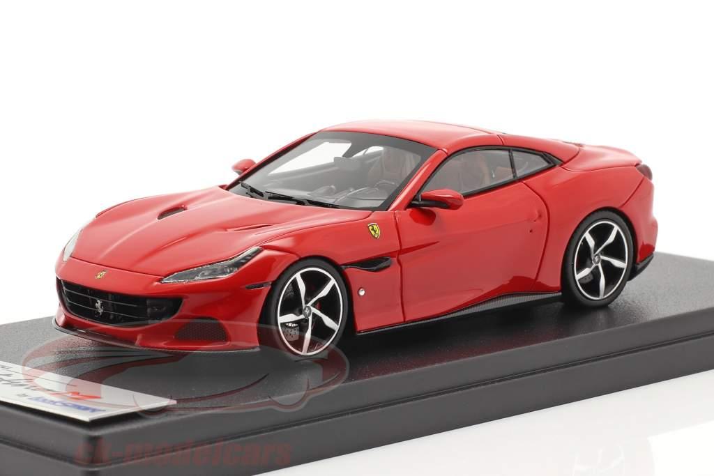 Ferrari Portofino M Baujahr 2020 corsa rot 1:43 LookSmart