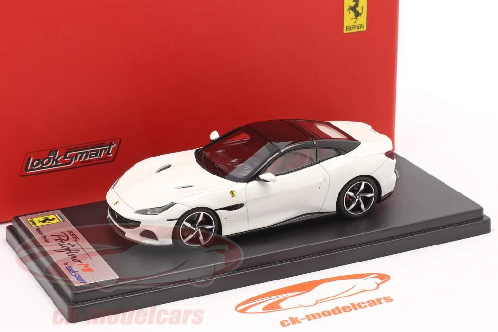 Ferrari Portofino M Baujahr 2020 cervino weiß 1:43 LookSmart