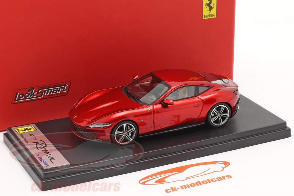 Ferrari Roma Byggeår 2020 ildrød 1:43 LookSmart
