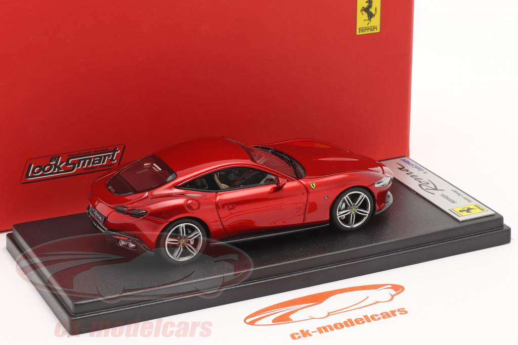 Ferrari Roma Baujahr 2020 feuerrot 1:43 LookSmart