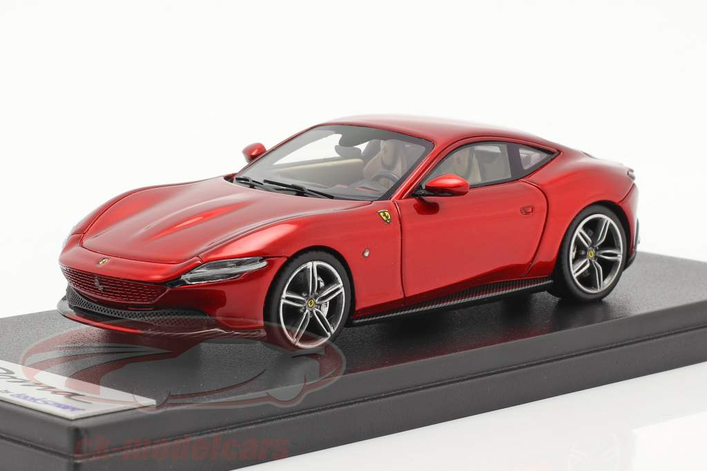 Ferrari Roma Bouwjaar 2020 vuur rood 1:43 LookSmart