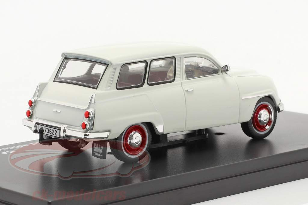 Saab 95 anno 1961 bianco 1:43 Triple9