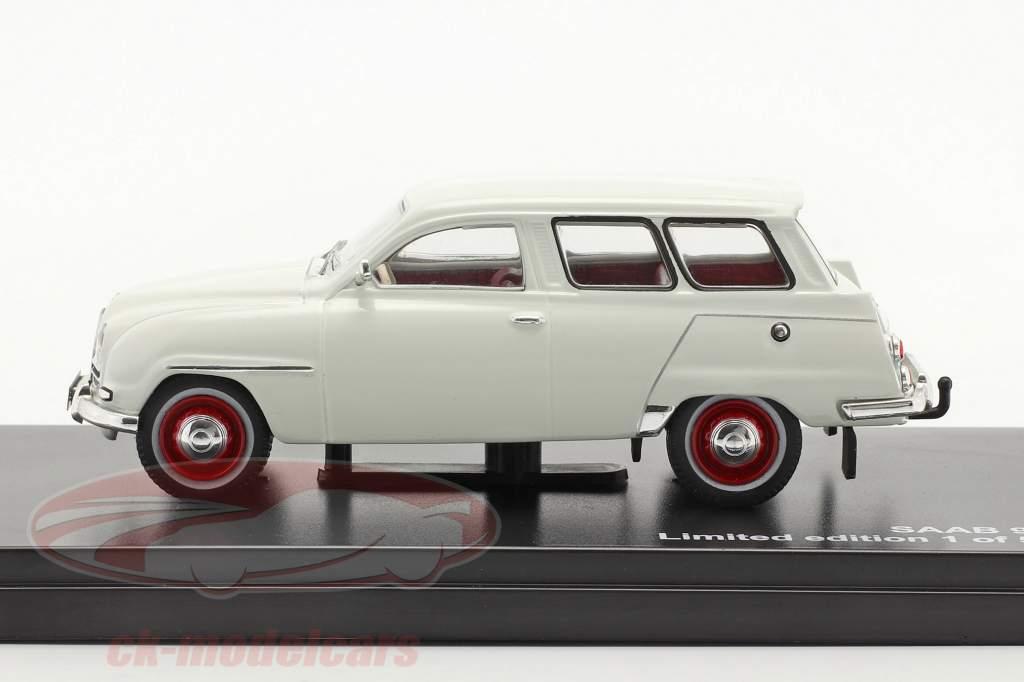 Saab 95 año 1961 blanco 1:43 Triple9