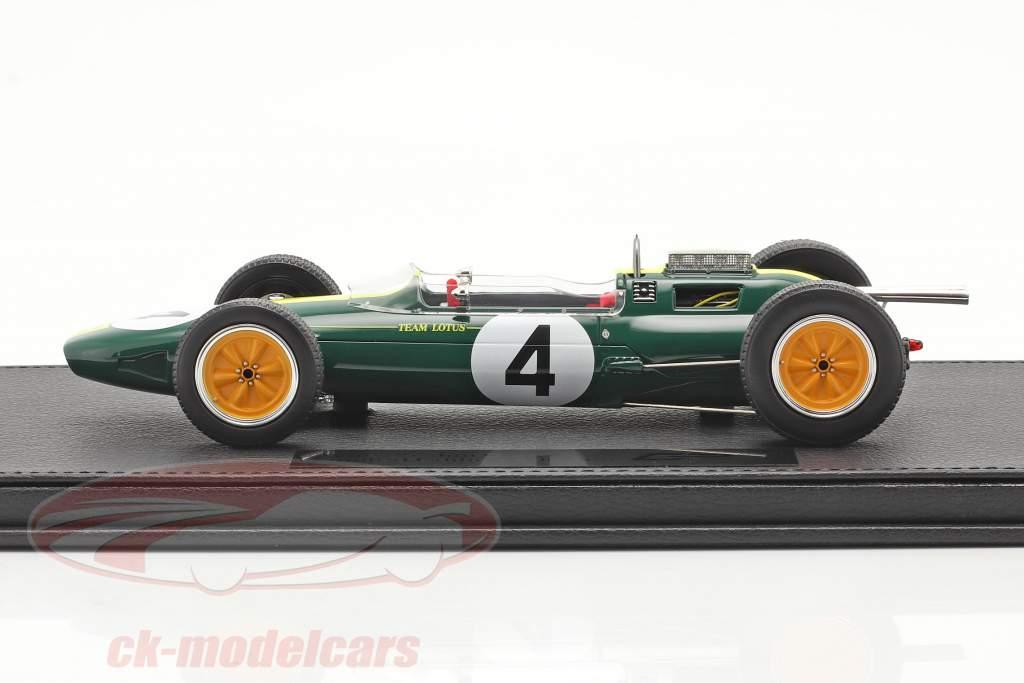 Jim Clark Lotus 25 #4 formule 1 Champion du monde 1963 Avec Vitrine 1:18 GP Replicas