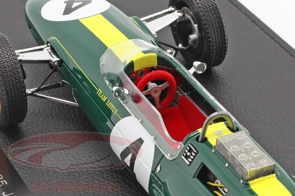 Jim Clark Lotus 25 #4 formel 1 Verdensmester 1963 Med Udstillingsvindue 1:18 GP Replicas