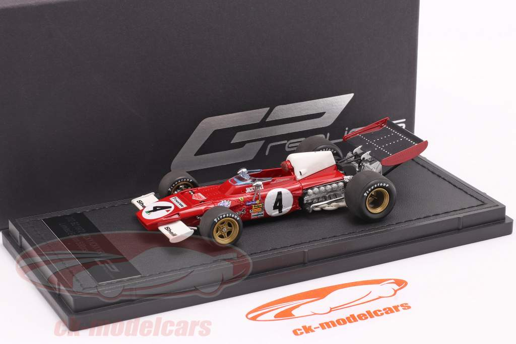 Jacky Ickx Ferrari 312B2 #4 fórmula 1 1972 1:43 GP Replicas