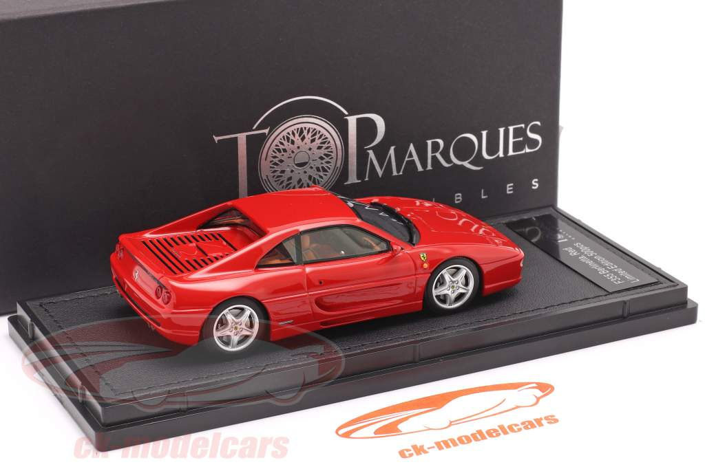 Ferrari F355 Berlinetta Bouwjaar 1994 rood 1:43 TopMarques