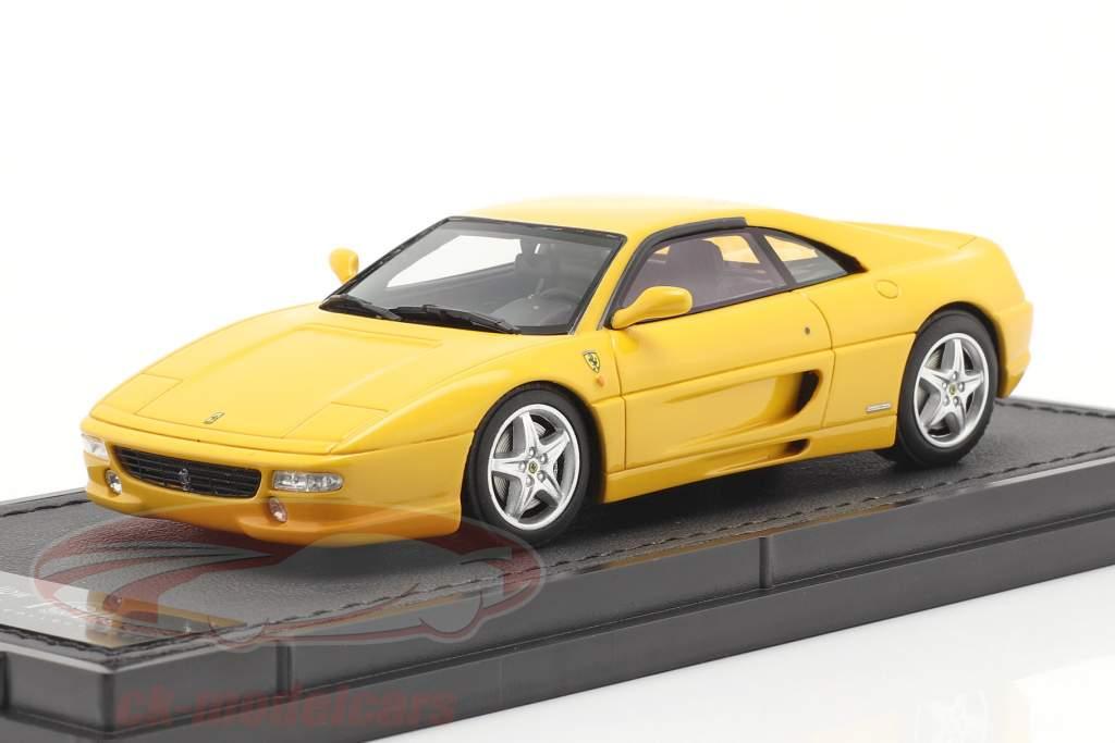 Ferrari F355 Berlinetta Bouwjaar 1994 geel 1:43 TopMarques