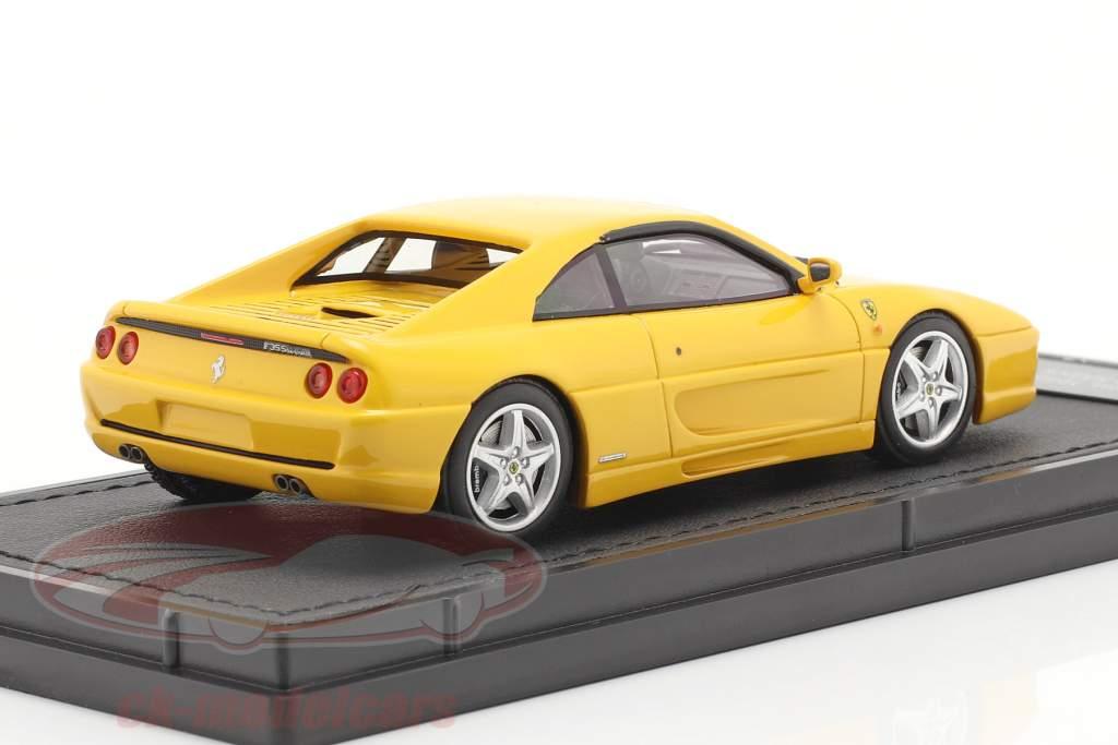 Ferrari F355 Berlinetta Byggeår 1994 gul 1:43 TopMarques