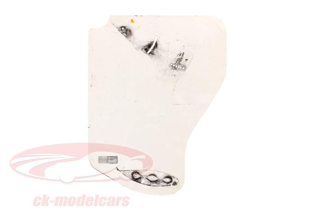 original Asa traseira Placa final #41 Fórmula Renault 2.0 / ca. 36 x 47 cm