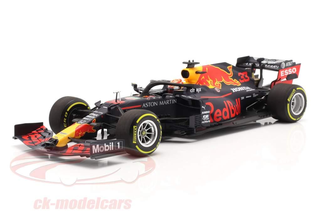 M. Verstappen Red Bull Racing RB16 #33 3-й Штирийский GP формула 1 2020 1:18 Minichamps