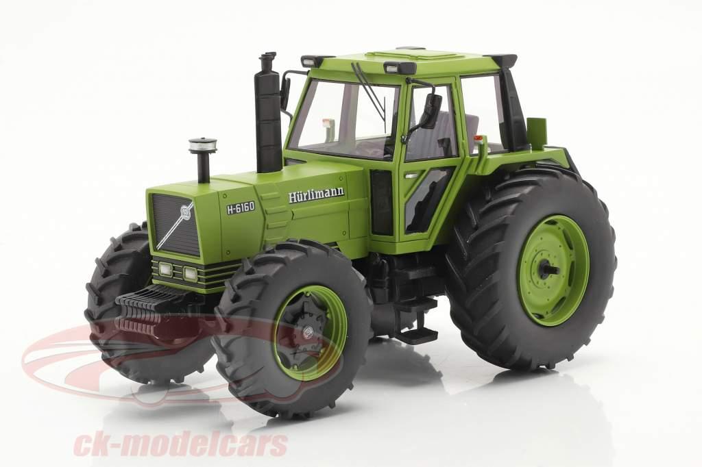 Hürlimann H-6160 Traktor Baujahr 1979 grün 1:32 Schuco