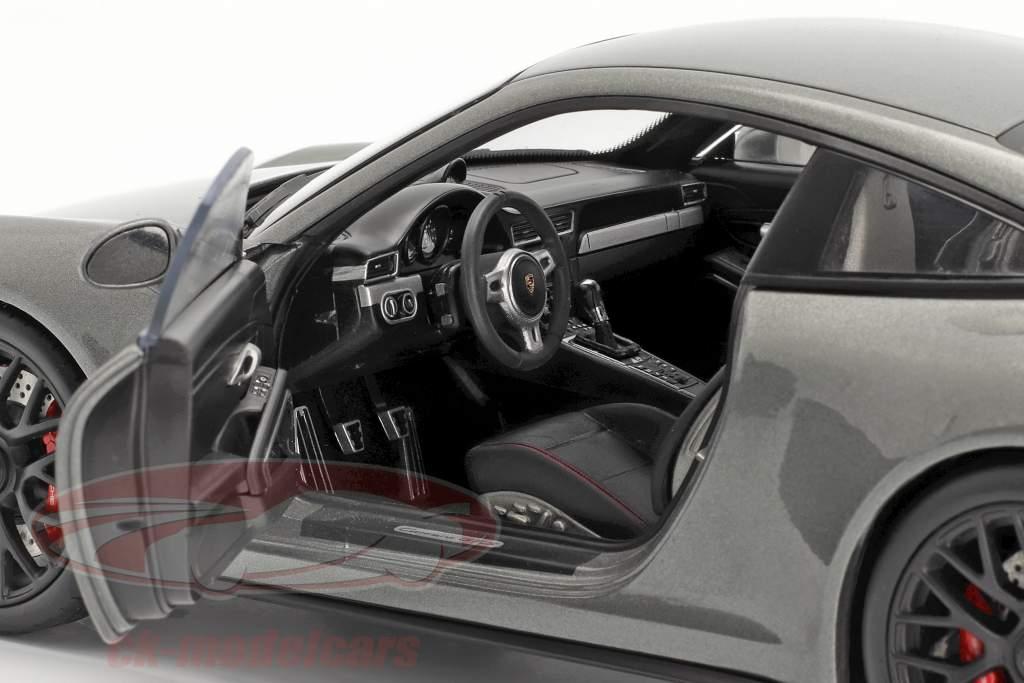 Porsche 911 (991) Carrera GTS Coupe Anno di costruzione 2014 grigio agata 1:18 Schuco