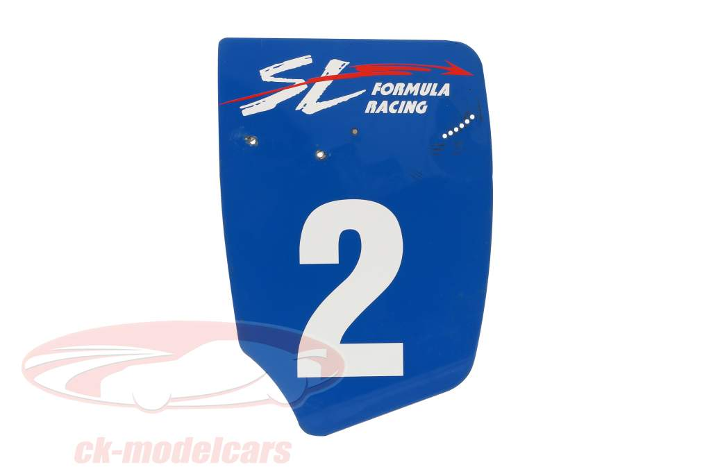 original Rear wing End plate #2 SL Formula Renault 2.0 / ca. 32 x 46,5 cm