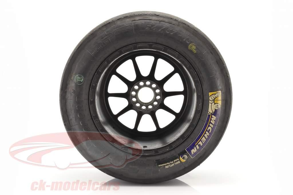 Original Michelin Courses Pneus 24/57-13 Avec jante Formel Renault 2.0
