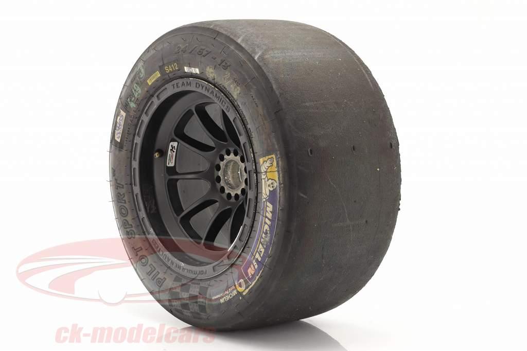 Original Michelin Racing Tires 24/57-13 with rim Formel Renault 2.0