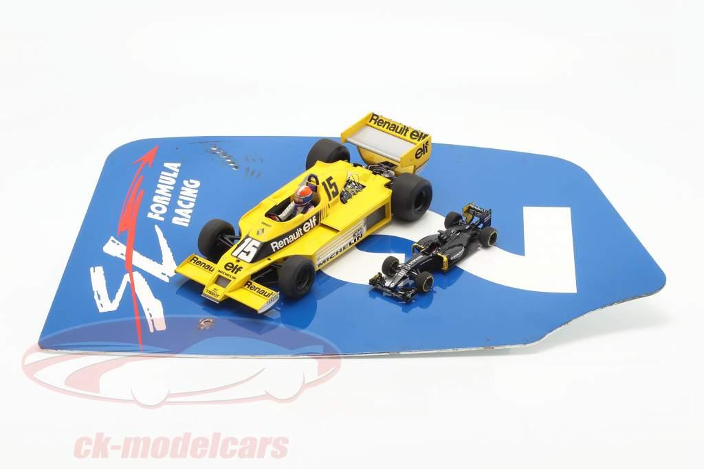originale Ala posteriore Piastra terminale #2 SL Formula Racing / ca. 32 x 46,5 cm
