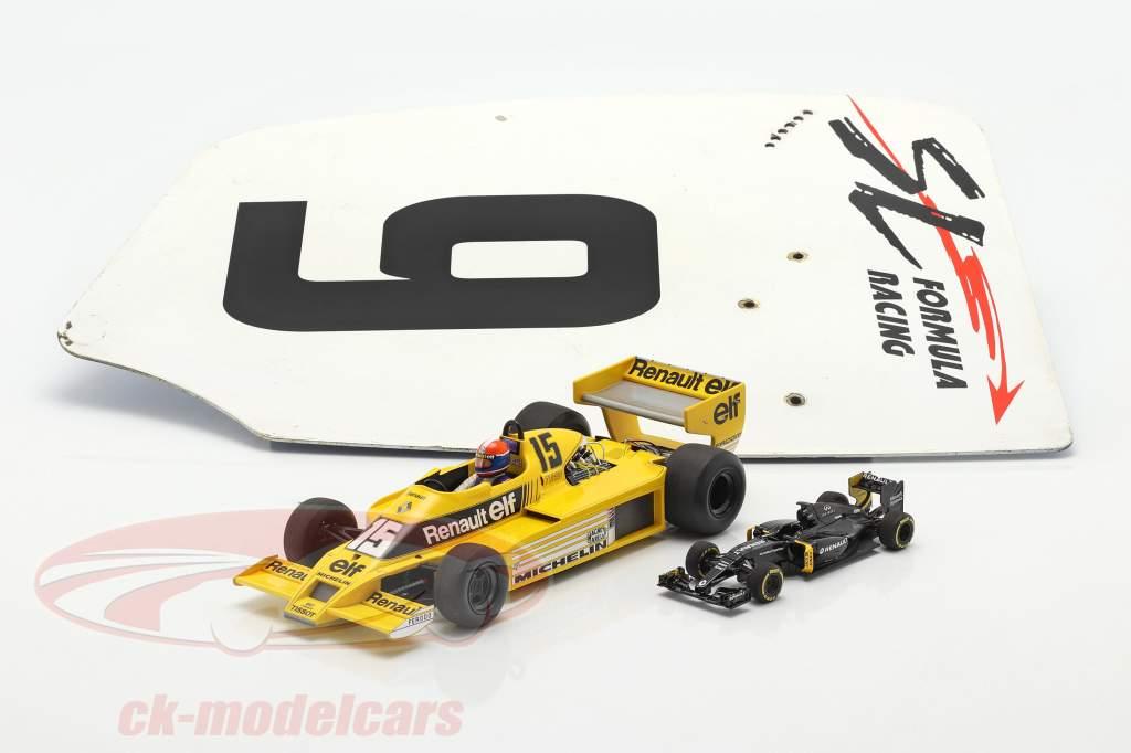 original Bagfløj Endeplade #9 SL Formula Racing / ca. 32 x 46,5 cm