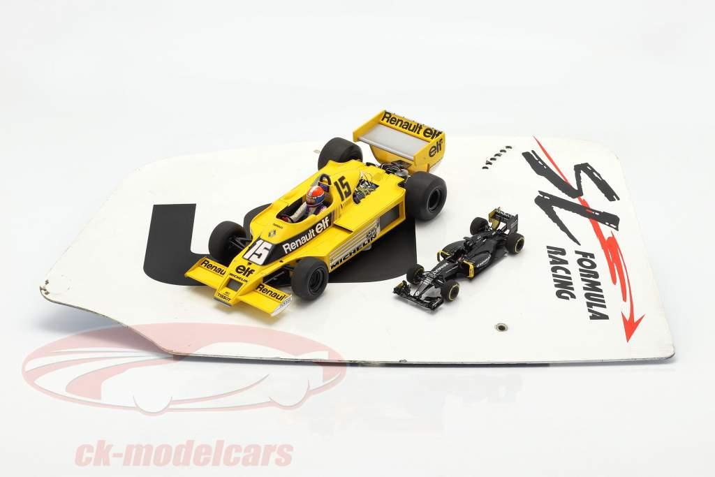 original Asa traseira Placa final #9 SL Formula Racing / ca. 32 x 46,5 cm