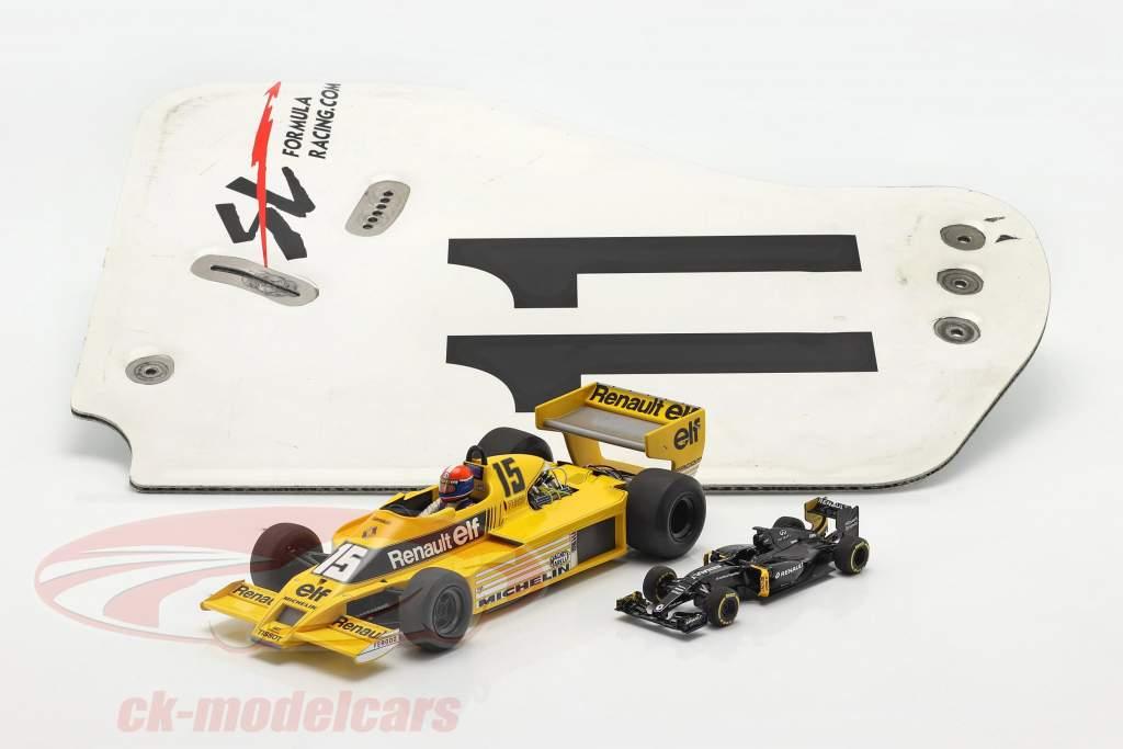 original Ala trasera Placa final #11 SL Formula Racing / ca. 36 x 47 cm