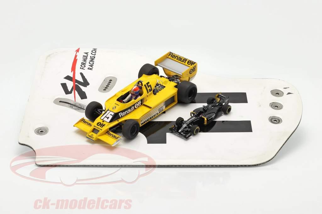 original Bagfløj Endeplade #11 SL Formula Racing / ca. 36 x 47 cm
