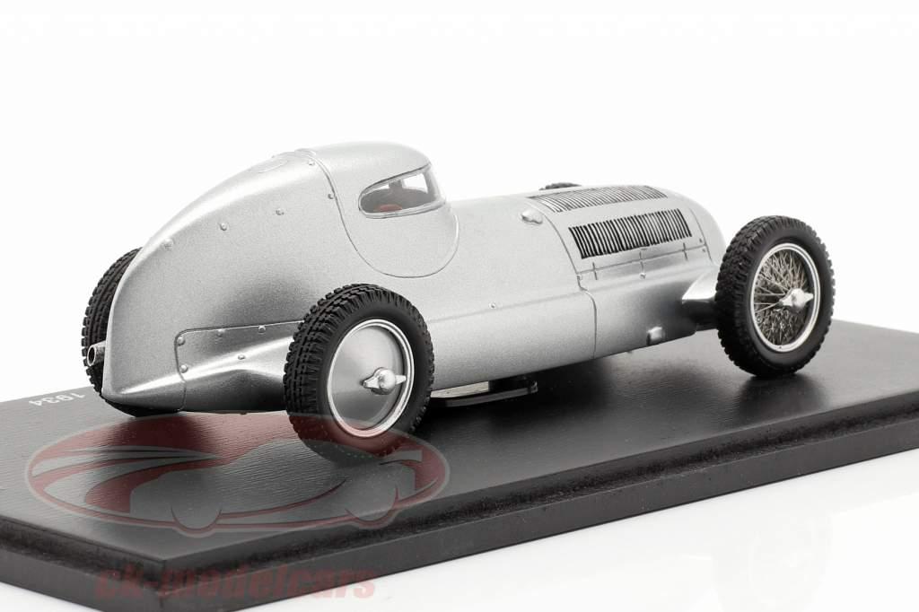 Mercedes-Benz W25 Record Closed Baujahr 1934 silber 1:43 Spark