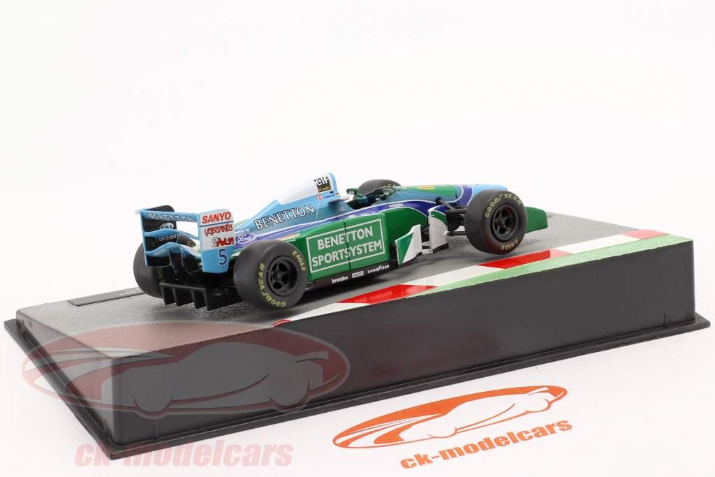 Michael Schumacher Benetton B194 #5 formule 1 Champion du monde 1994 1:43 Altaya