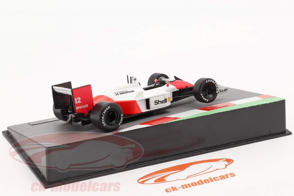 Ayrton Senna McLaren MP4/4 #12 formule 1 Champion du monde 1988 1:43 Altaya