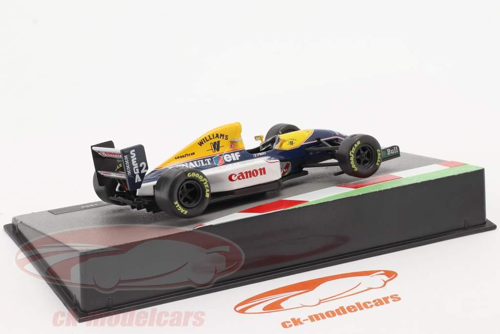 Alain Prost Williams FW15C #2 formule 1 Wereldkampioen 1993 1:43 Altaya