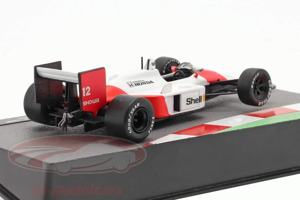 Ayrton Senna McLaren MP4/4 #12 formel 1 Verdensmester 1988 1:43 Altaya