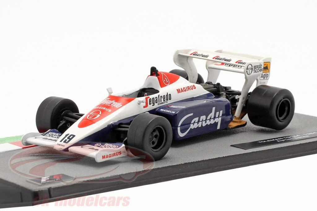 Ayrton Senna Toleman TG184 #19 Formel 1 1984 1:43 Altaya