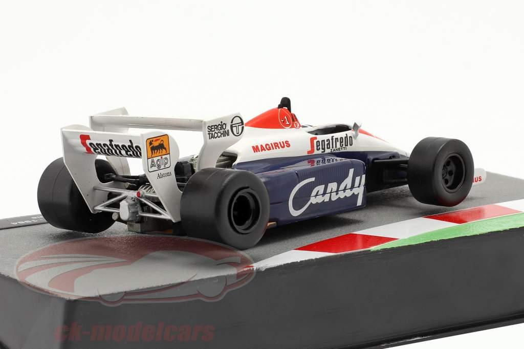 Ayrton Senna Toleman TG184 #19 formula 1 1984 1:43 Altaya