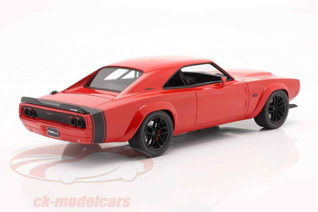 Dodge Super Charger Concept Car 1968 rouge 1:18 GT-Spirit