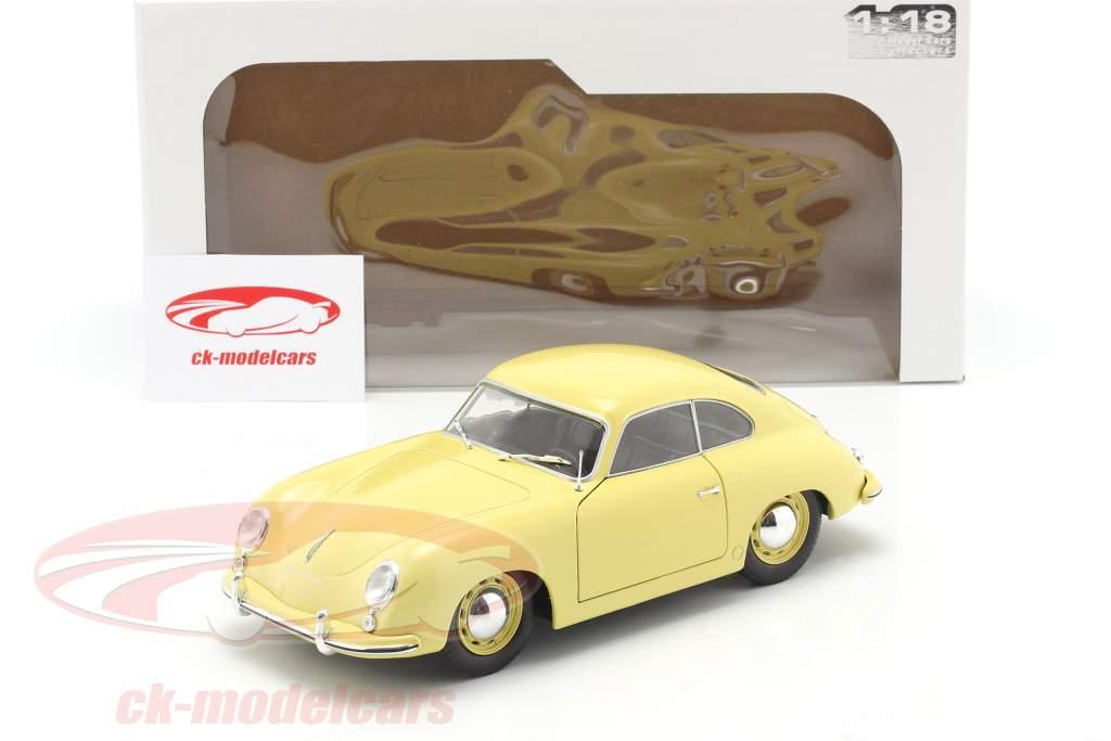 Porsche 356 Pre-A Coupe condor yellow 1:18 Solido