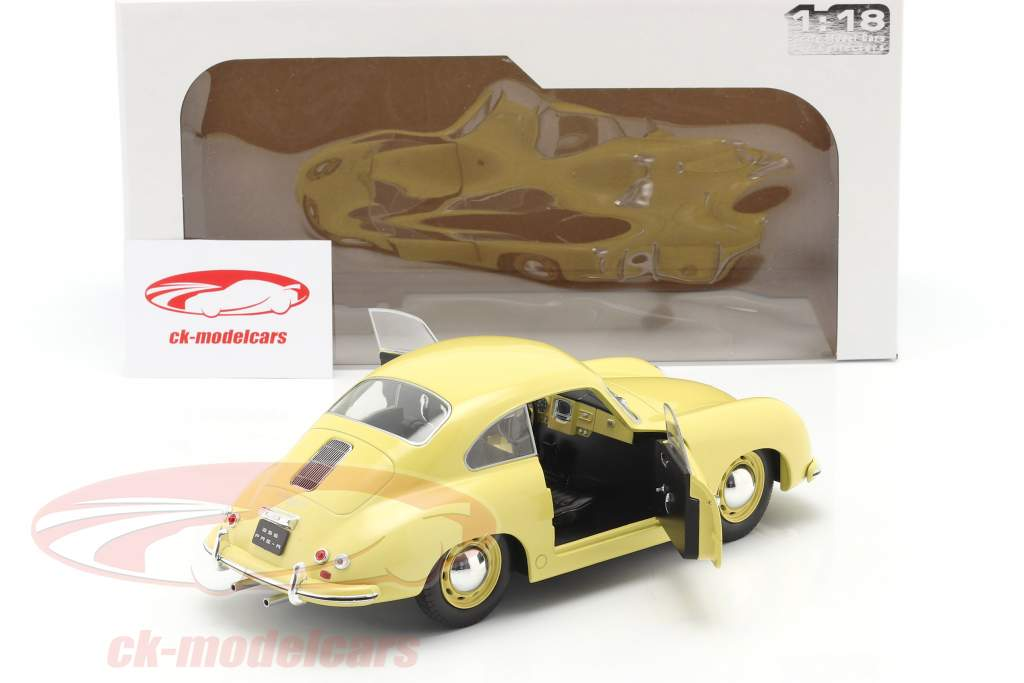 Porsche 356 Pre-A Coupe condor giallo 1:18 Solido
